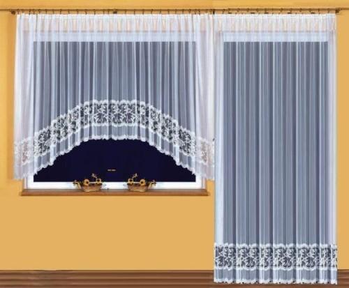 Dominika Komplet Firan Na Okno I Drzwi Balkonowe 400 X 170 Cm I 200 X 250 Cm łuk