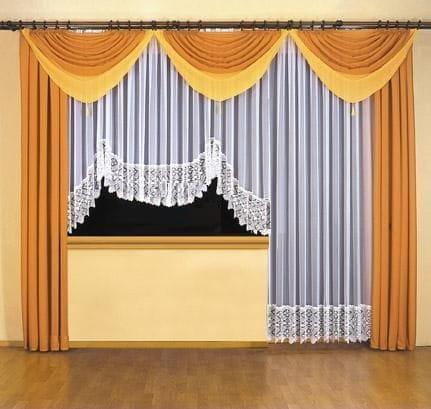 Basia Komplet Firan Na Okno I Drzwi Balkonowe